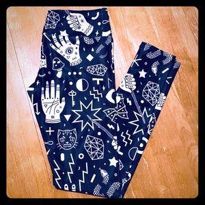Pants - Patterned Yoga Pants